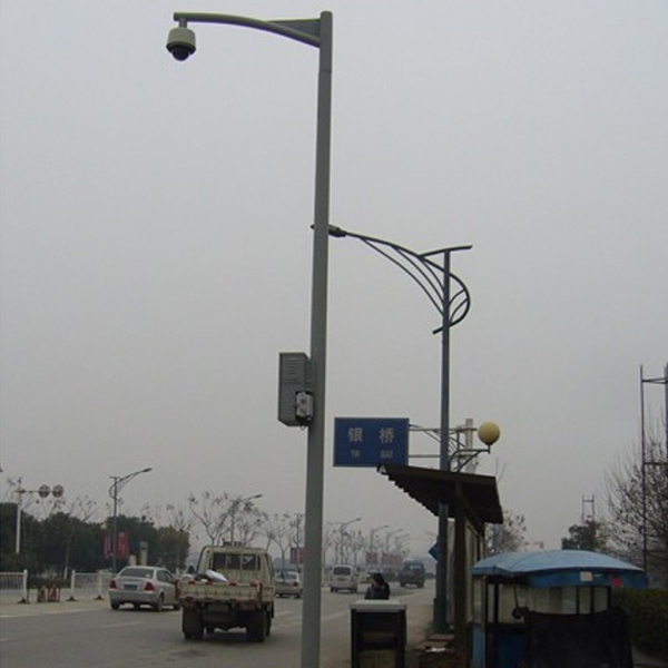 平安城市6米监控立杆