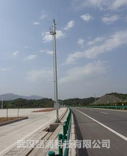 高速公路12米监控杆