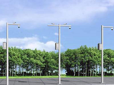平安城市监控立杆解决方案